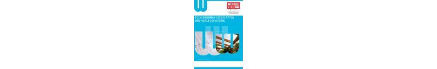 Polycarbonat-Stegplatten und Verlegesysteme